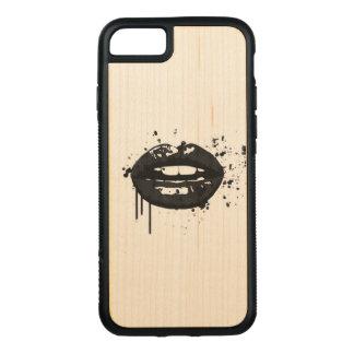 Funda Para iPhone 8/7 De Carved Artista de maquillaje elegante del beso de la moda