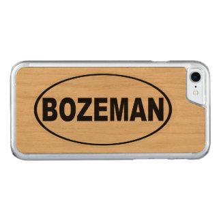 Funda Para iPhone 8/7 De Carved Bozeman Montana