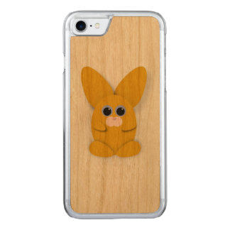 Funda Para iPhone 8/7 De Carved Caja amarilla de Bunn de la cautela