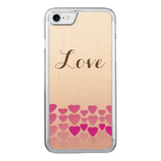 Funda Para iPhone 8/7 De Carved Caja de madera de la cereza delgada del iPhone 7