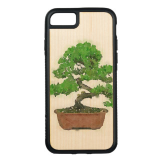 Funda Para iPhone 8/7 De Carved Caja de madera del parachoque del iPhone 7 de