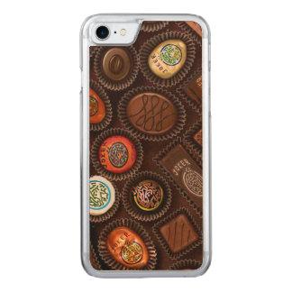 Funda Para iPhone 8/7 De Carved Caja del teléfono con los caramelos de Mahjong del