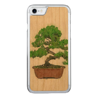 Funda Para iPhone 8/7 De Carved Caso de madera del iPhone 7 de Apple: Árbol
