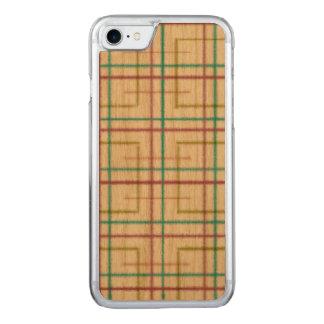 Funda Para iPhone 8/7 De Carved Caso de madera del iPhone, cuadrado, iPhone de la