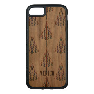Funda Para iPhone 8/7 De Carved Caso del bosque del pino