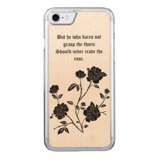 Funda Para iPhone 8/7 De Carved caso del rosa del iPhone