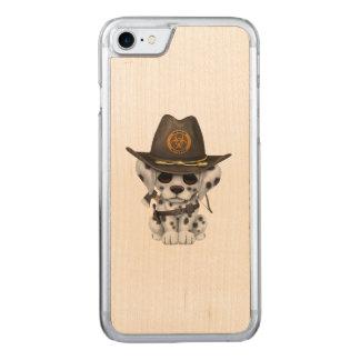 Funda Para iPhone 8/7 De Carved Cazador dálmata lindo del zombi del perrito