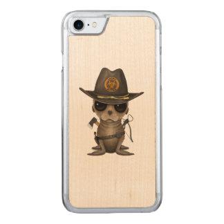 Funda Para iPhone 8/7 De Carved Cazador del zombi del león marino del bebé