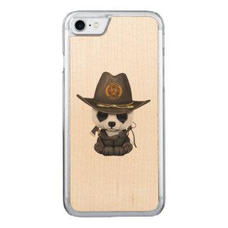 Funda Para iPhone 8/7 De Carved Cazador del zombi del oso de panda del bebé