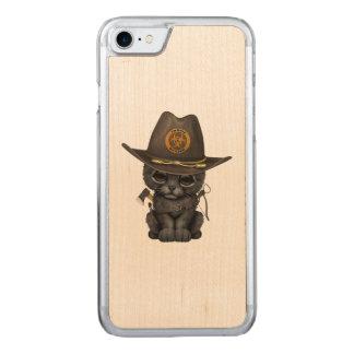 Funda Para iPhone 8/7 De Carved Cazador lindo del zombi de Cub de la pantera negra