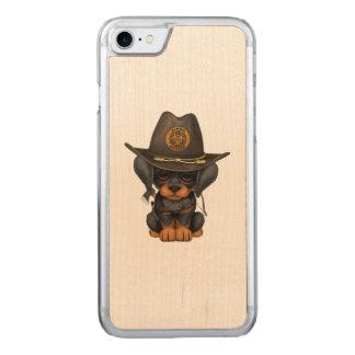 Funda Para iPhone 8/7 De Carved Cazador lindo del zombi del perrito del Doberman