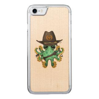 Funda Para iPhone 8/7 De Carved Cazador verde del zombi del pulpo del bebé