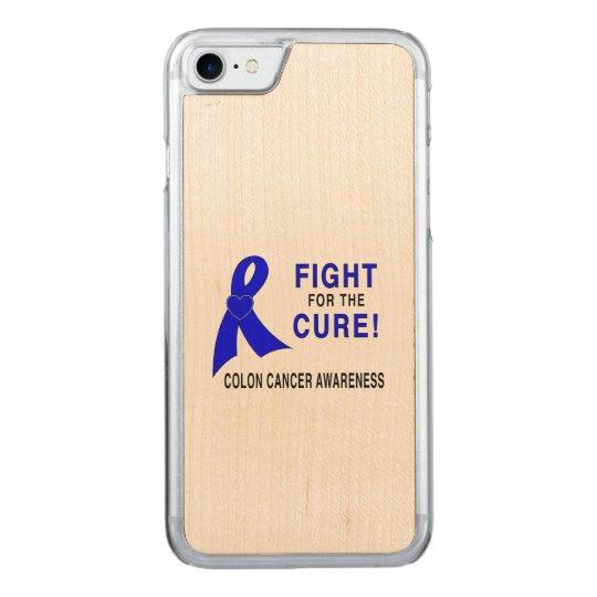 Funda Para iPhone 8/7 De Carved Conciencia del cáncer de colon: ¡Lucha para la