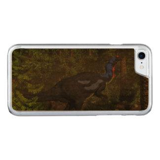 Funda Para iPhone 8/7 De Carved Consumición del dinosaurio del Camptosaurus - 3D