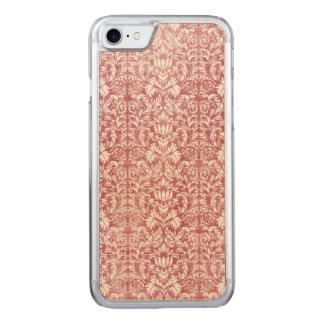 Funda Para iPhone 8/7 De Carved Damasco floral del rosa color de rosa