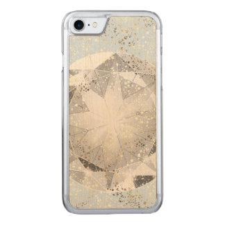 Funda Para iPhone 8/7 De Carved Diamante blanco en chispa azul en colores pastel
