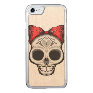 Funda Para iPhone 8/7 De Carved Diseño del cráneo del azúcar