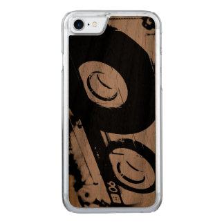 Funda Para iPhone 8/7 De Carved diseño retro de los años 80 - cinta de casete