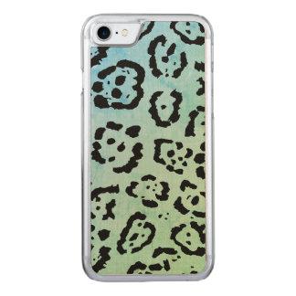 Funda Para iPhone 8/7 De Carved Efecto de la pintura del aceite animal del gato de