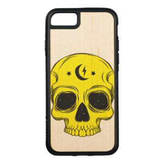 Funda Para iPhone 8/7 De Carved Ejemplo artístico del cráneo