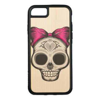 Funda Para iPhone 8/7 De Carved Ejemplo del cráneo del azúcar