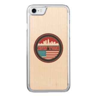 Funda Para iPhone 8/7 De Carved El horizonte el   Estados Unidos de Nueva York