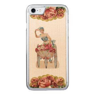 Funda Para iPhone 8/7 De Carved El iPhone color de rosa REBELDE RETRO 5/5S del