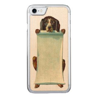 Funda Para iPhone 8/7 De Carved El iPhone REBELDE RETRO 5/5S del perro adelgaza la