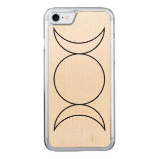 Funda Para iPhone 8/7 De Carved Fase de la luna de la trinidad