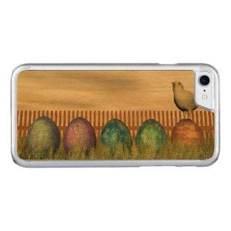 Funda Para iPhone 8/7 De Carved Huevos coloridos para pascua - 3D rinden