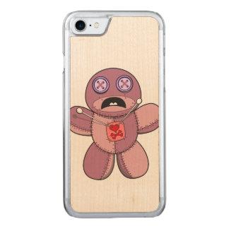 Funda Para iPhone 8/7 De Carved Ilustracion de la muñeca del vudú
