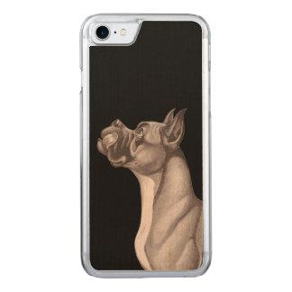 Funda Para iPhone 8/7 De Carved La madera del iPhone 6 del DANÉS