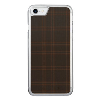 Funda Para iPhone 8/7 De Carved Lago de la tela escocesa de Aboyne