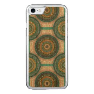Funda Para iPhone 8/7 De Carved Modelo floral étnico abstracto colorido de la