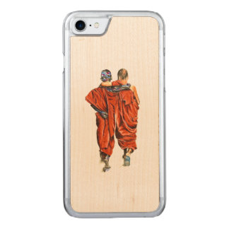 Funda Para iPhone 8/7 De Carved Monjes budistas