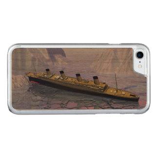 Funda Para iPhone 8/7 De Carved Nave titánica que se hunde - 3D rinden