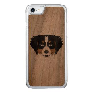 Funda Para iPhone 8/7 De Carved Perro de montaña de Bernese del ilustracion