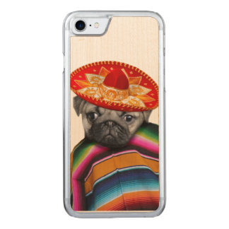 Funda Para iPhone 8/7 De Carved Perro mexicano del barro amasado