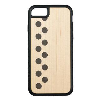 Funda Para iPhone 8/7 De Carved Puntos gris oscuro a cuadros
