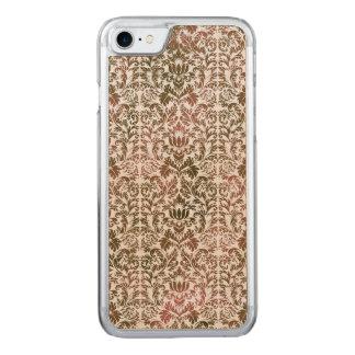 Funda Para iPhone 8/7 De Carved Rosa y damasco Heathered de Shibori del batik de