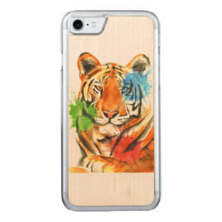 Funda Para iPhone 8/7 De Carved Salpicadura del tigre
