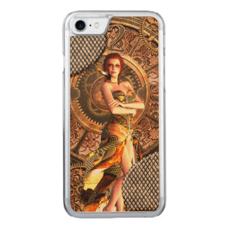 Funda Para iPhone 8/7 De Carved Steampunk, mujeres hermosas del vapor