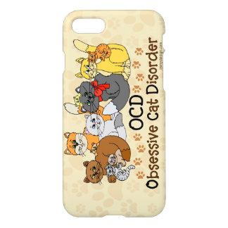 Funda Para iPhone 8/7 Desorden obsesivo del gato de OCD