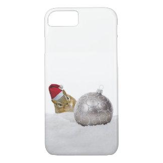 Funda Para iPhone 8/7 Día de fiesta lindo del navidad de la plata y de
