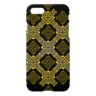 Funda Para iPhone 8/7 diagonal del oro de f