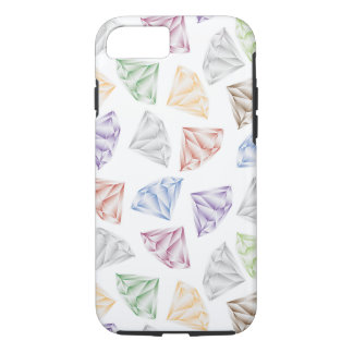 Funda Para iPhone 8/7 Diamantes coloridos para mi amor