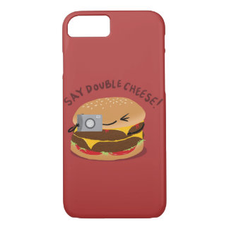 Funda Para iPhone 8/7 ¡Diga el queso doble!