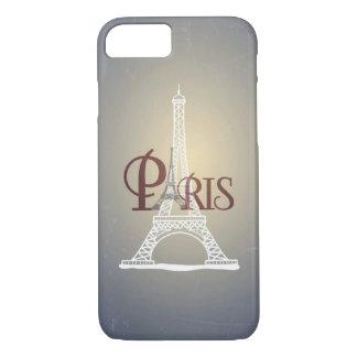 Funda Para iPhone 8/7 Diseño azul de París de la torre Eiffel del