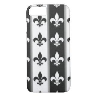 Funda Para iPhone 8/7 Diseño blanco negro de la impresión del modelo de