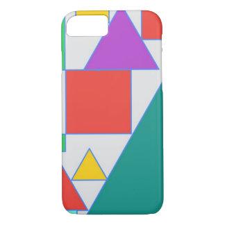 Funda Para iPhone 8/7 Diseño coloreado intrépido del extracto